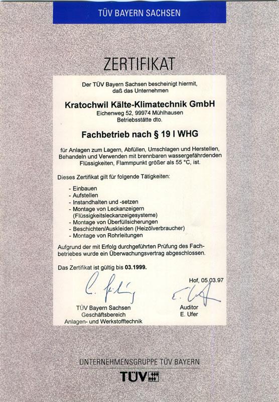KKT - Zertifikate und Qualifikationen |