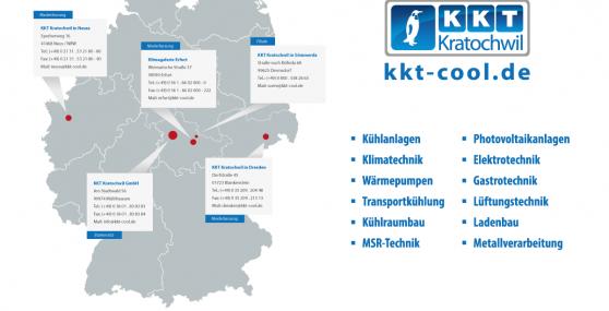 KKT Filialen und Niederlassungen