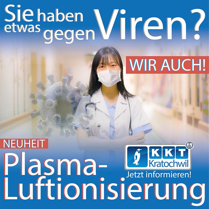Plasma Luftionisierung in Gebäuden - KKT Kratochwil